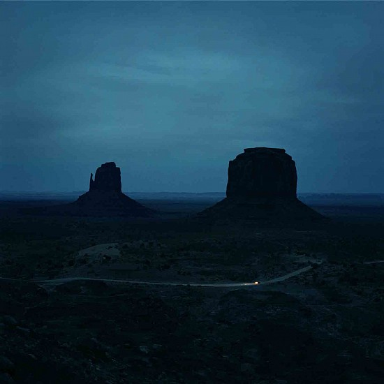 Jason Frank Rothenberg (LA), Monument Valley, Edition of 8 2017, archival pigment print