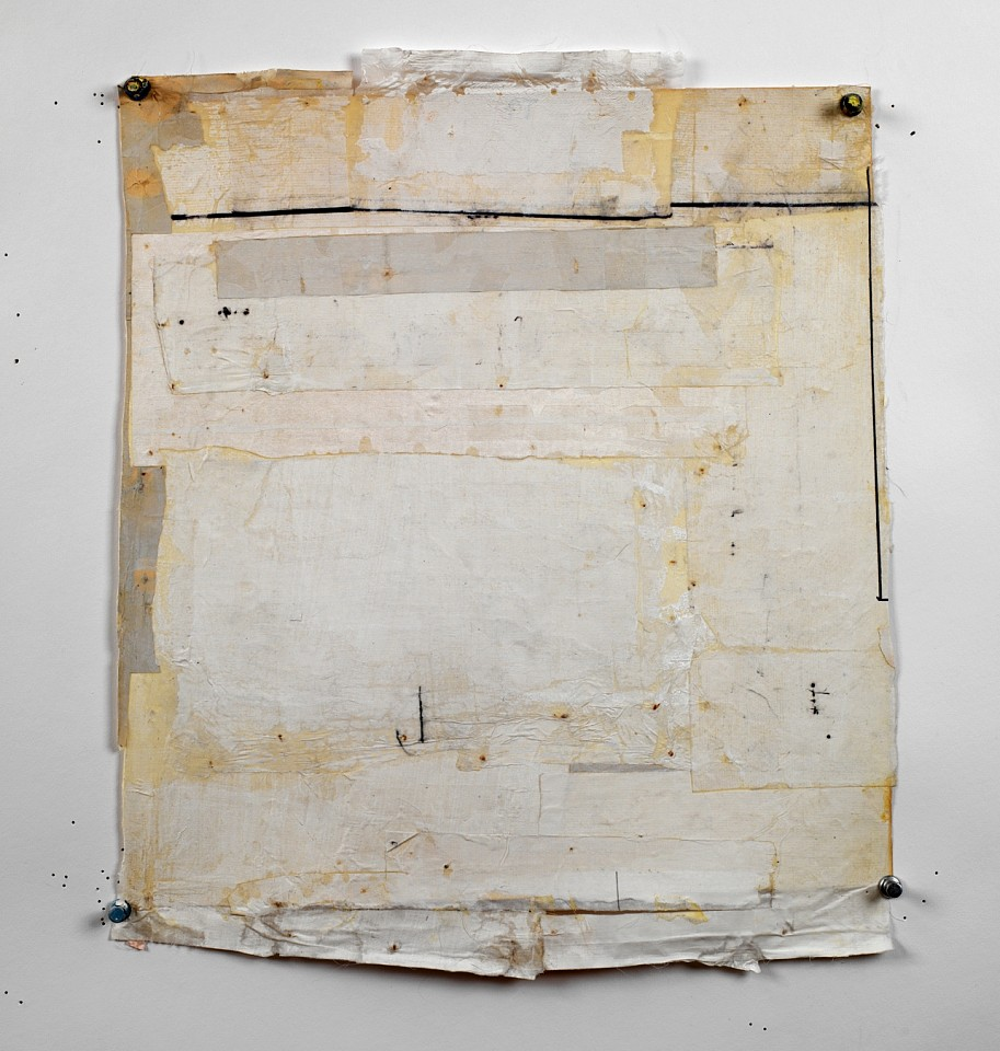 Eugene Brodsky (LA)   SB 20 , 2019  BROD363   Mixed media, 14 x 13 inches, 21 3/4 x 20 3/4 inches framed