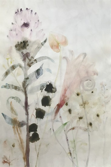 Lourdes Sanchez, Untitled 2019, watercolor on paper