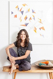 Jen Wink Hays Press: At Home With Minted Artist Jen Wink Hays, June  9, 2016
