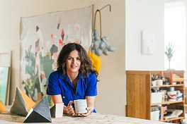 Jen Wink Hays Press: Our Newest Artist Crush Takes Us on a Tour of Her Light-Filled Philadelphia Studio, September 28, 2019 - Fiorella Valdesolo